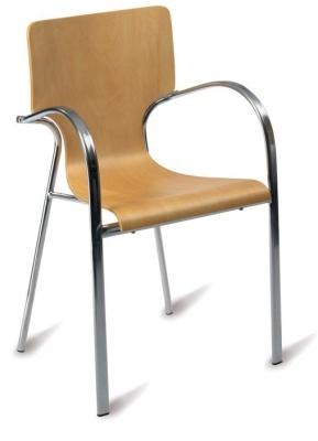 Vaneca Chair Natural Finish
