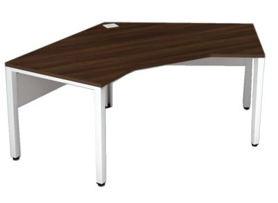 Avalon Compact Pentagon Bench Desk