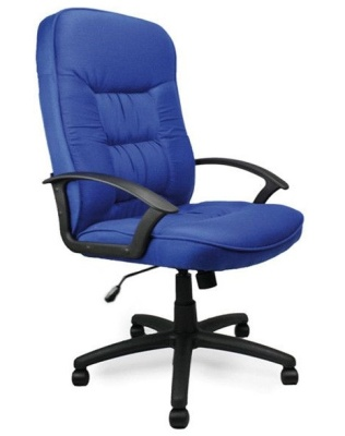 Gloucester Executive Blue Fabric Chair