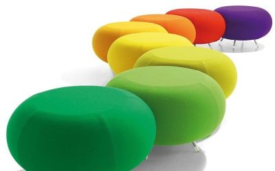 Pebble Modular Seating In A Range Of Bright Colours