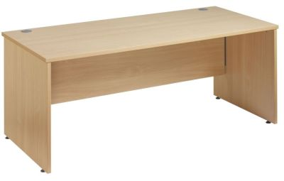 Gm Rectangular Desk With Side Panels