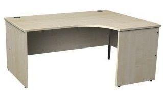 Gm Right Hand Maple Corner Desk