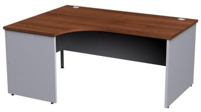 Duplex Left Hand Corner Desk