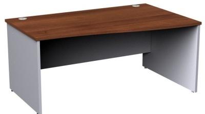 Duplex Right Hand Wave Desk