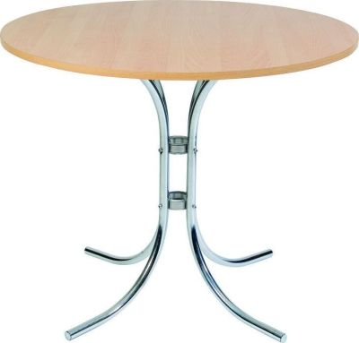 Atlas Cafe Table With A Beech Top