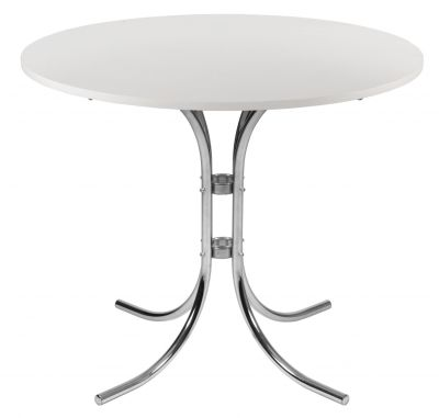 Atlas Cafe Table With A White Top
