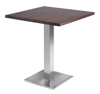 Dalio Stainless Steel Cafe Table