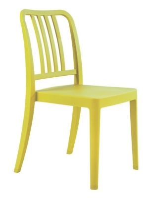 Lima Outdoor Poly Chair Lime Green