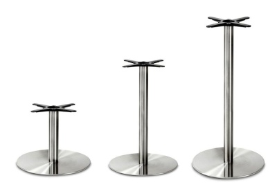 Profile Round Stainless Sreel Table Bases