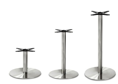 Profile Stainless Steel Table Bases