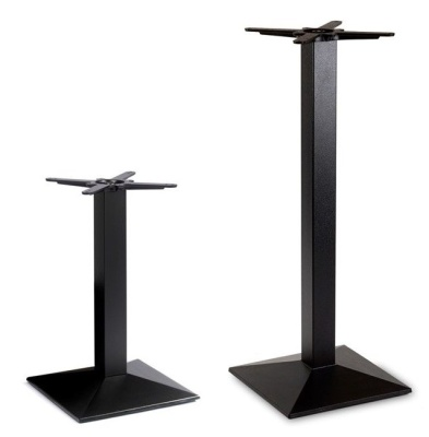 Pyramid Black Table Bases