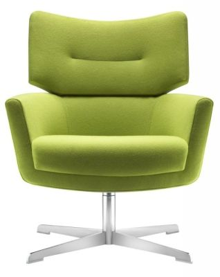 Kala Designer Green Armchair In Quality Green Fabric