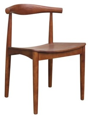 Wegner Style Elbow Dining Chair
