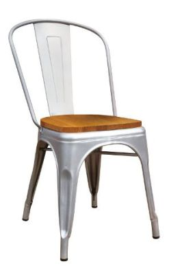Xavier Pauchard Side Chair With Wooden Seat Pad