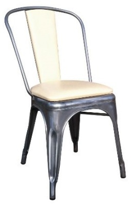 Xavier Pauchard Chair With An Aupholstered Seat And Back