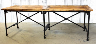 Reclaimed Cutting Table