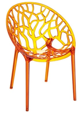 Crystal Chair Orange