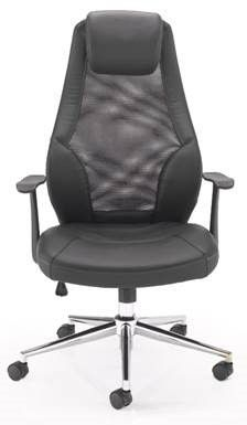 Tempest Executive Mesh Chair Facing