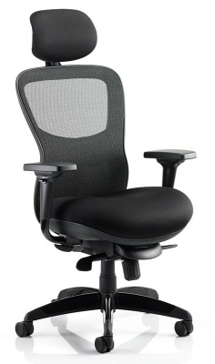 Shadow Mesh Back Achair With Headrest