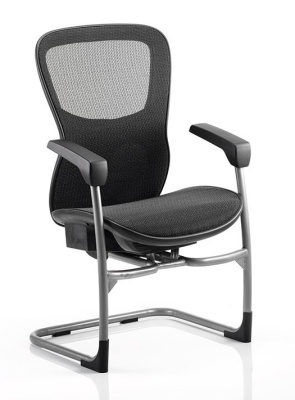 Shadow All Mesh Visitors Chair