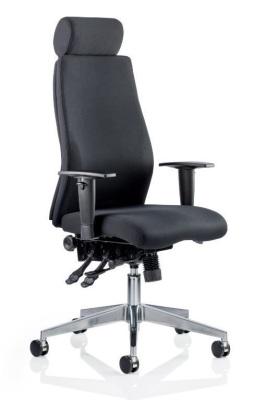 Onyx With Headrest Black