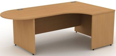 Avalon Right Hand Interactive Corner Desk With Sdide Panels