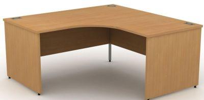 Avalon Extra Large Corner Desk With Panel Sides