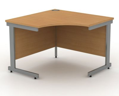 Avalon Compact Symmetrical Corner Desk