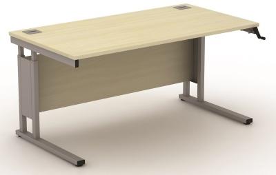 Avalon 600mm Deep Height Adjustable Rectangular Desks