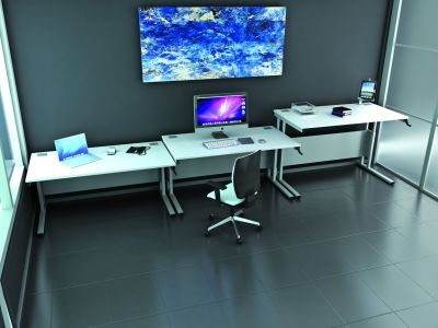 Avalon Height Adjustable Desks Install Shot