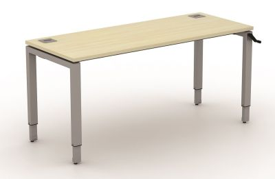 Avalon Height Adjustable Bench Desk 600mm Deep