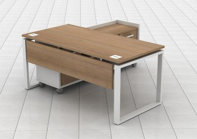 Avalon Bench Desk With Credenza