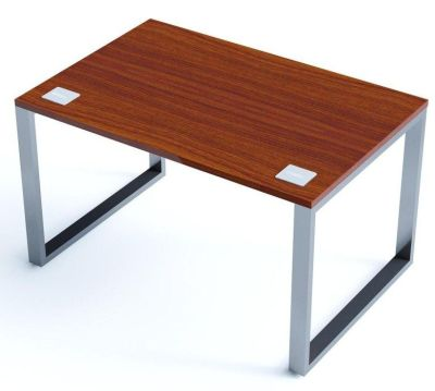 Avalon Plus 800mm Bench Desk With A Walnut Top