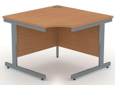 Avalon 800mm Deep Symmetrical Corner Desk