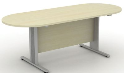 Avalon Plus Double D End Boardroom Table