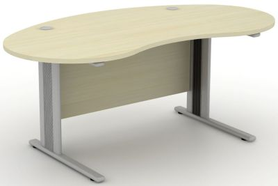 Avalon Plus Kidney Shaped Desk