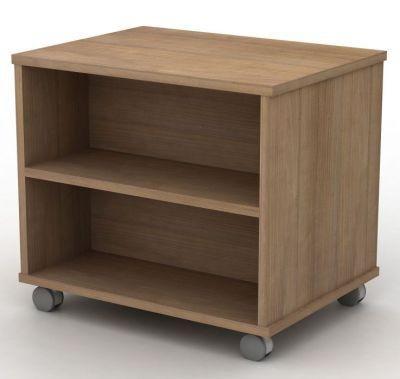 Avalon Mobile Double Bookcase