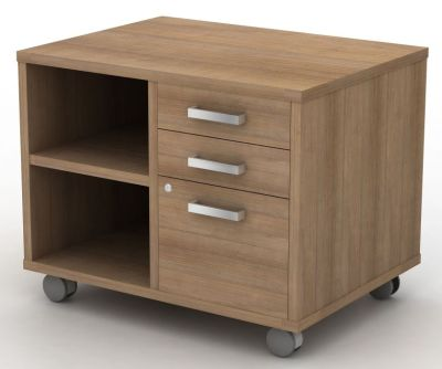 Avalon Plus Combination Mobile Open And Drawer Storage Unit