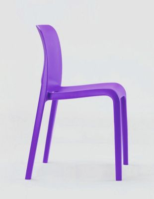 POP Purple General Use Polypropylene Chair