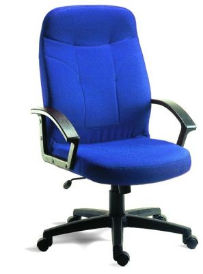 Redro Executive Blue Fabric Swivel Chair