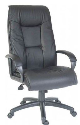 Wentworth Black Leather Executive Chair