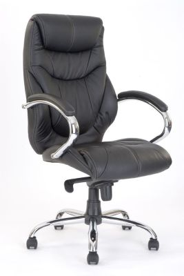 Banton Designer Black Leather Executive Chair