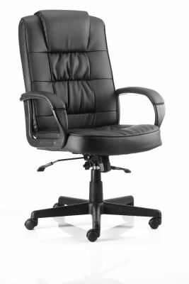 Roger Black Leather Executive Chair