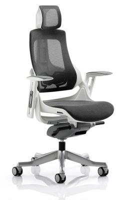 Zodiac Mesh Task Chair Charcoal Mesh