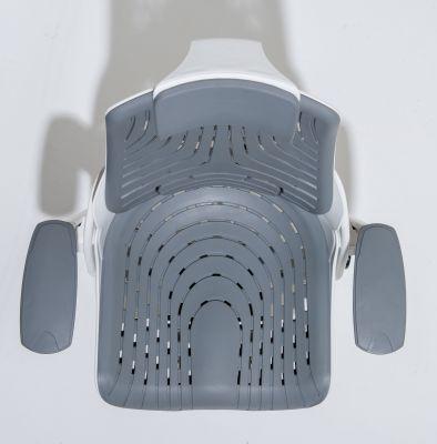 Zodiac Task Chair Grey Elatomer Overhead