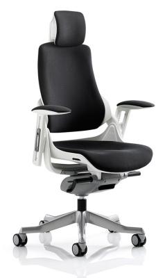 Dodiac Task Chair In Black Fabric