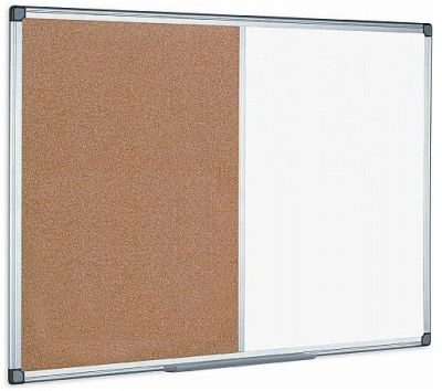 BS Combination Whiteboard And Self Healing Corkboard