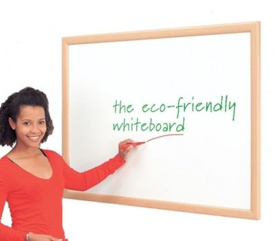 Eco-friendly Dry Wipe Board Made From Recycled Materials With Beach Coloured Frame