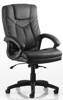 Stonewell Executive Black Leather Chair