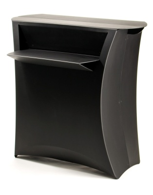 Flux Folding Counter In Black